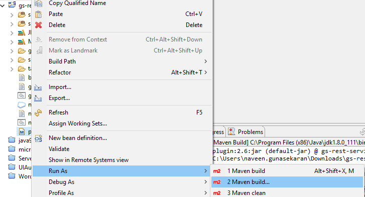 How to import maven spring boot project in Eclipse / STS ?