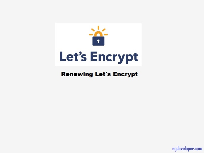 How to renew letsencrypt ssl certificate in cent os aws ec2 ?