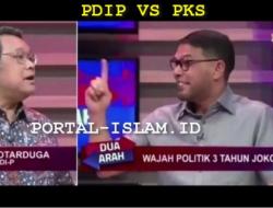 """[Video] Wow Jleb, Debat di Kompas TV, Politisi PKS """"Skakmat"""" Politisi PDIP"""