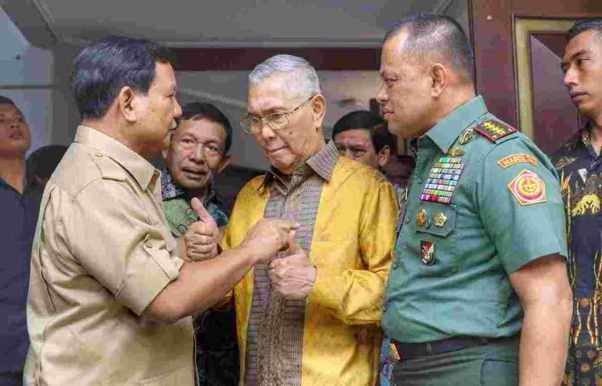 Temui Prabowo, Gerindra Duga Gatot Ceritakan Kondisi Pemerintahan Jokowi