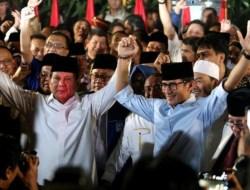 Prabowo-Sandiaga Uno Resmi Daftar Capres-Cawapres