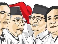 Nomor Urut Untuk Jokowi-Ma'ruf dan Prabowo-Sandi