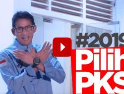Keren! Beredar Video Sandi Ajak Pilih PKS Bersama Milenial