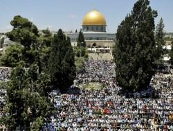 Ribuan Orang Tunaikan Salat Ghaib di Masjid Al-Aqsa untuk Syuhada Selandia Baru