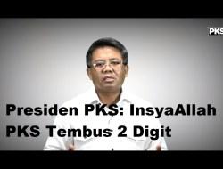 [Video] Presiden PKS: InsyaAllah PKS Tembus 2 Digit