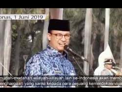 [Video] Viral Pidato Anies Baswedan 1 Juni 2019 di Monas