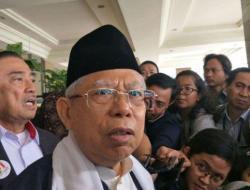 Soal Nama Menteri, Ma'ruf Amin Merasa Tak Perlu Dilibatkan