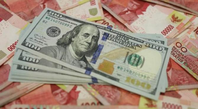Nilai Tukar Rupiah Terhadap Dolar AS Kian Melemah