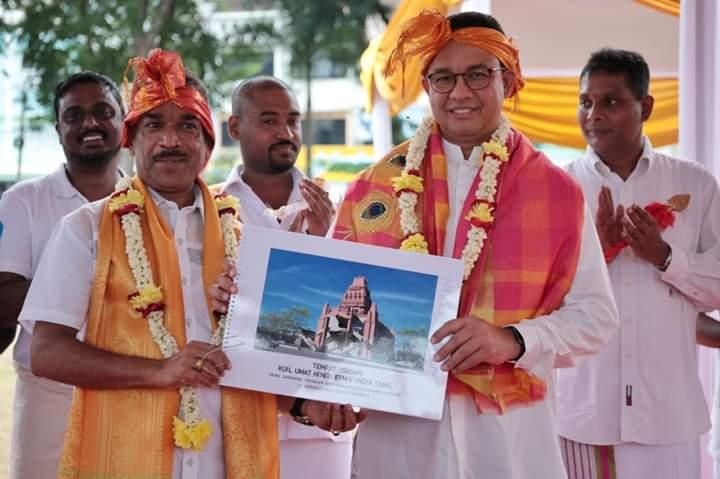 Di Zaman Anies, Umat Hindu Tamil Akhirnya Miliki Rumah Ibadah