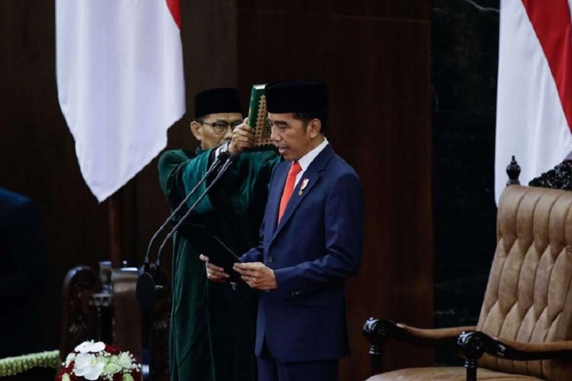 Setahun Jokowi Ma'ruf Periode Kedua