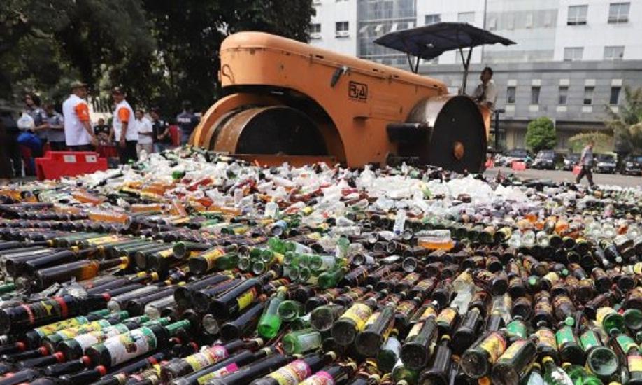 PDIP Golkar RUU Alkohol