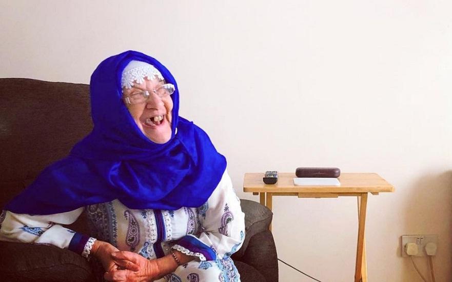 Nenek Mariam Inggris Masuk Islam