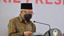 Wapres Ma'ruf Amin Investasi Miras Tak Dilibatkan