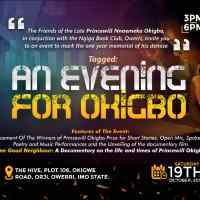 AN EVENING FOR OKIGBO PRINCEWILL SET TO HOLD IN OWERRI, OCTOBER 19TH, 2019.