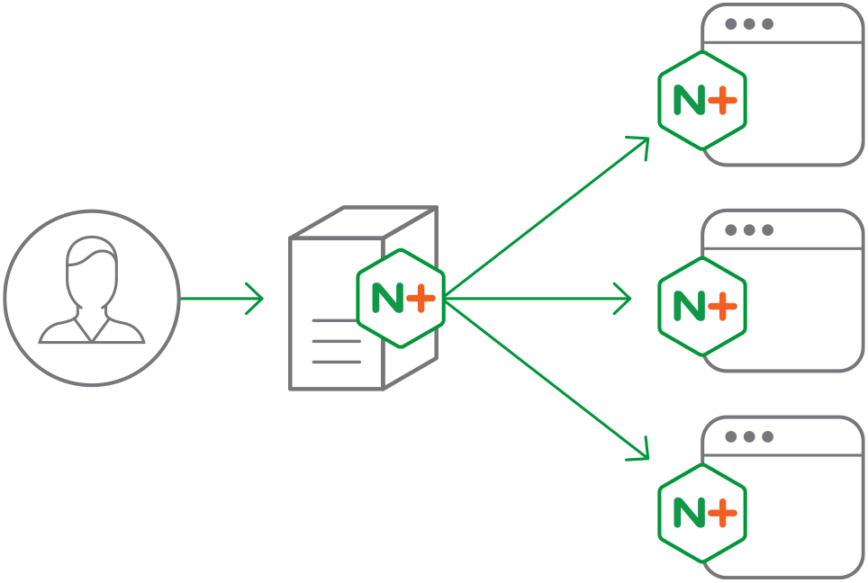 NGINX Plus is a software load balancer, web server, and