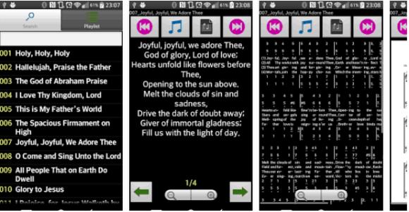 hymns of praise app