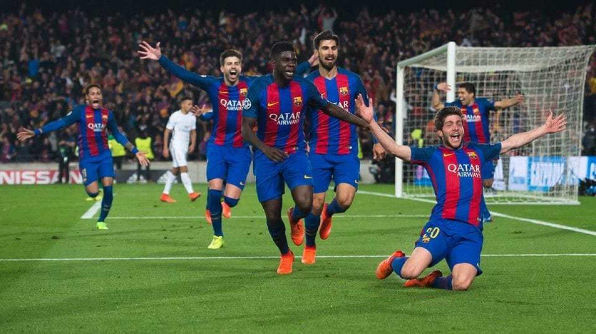 تعرف على نتيجة وملخص مباراة التاريخ برشلونة وباريس سان جيرمان