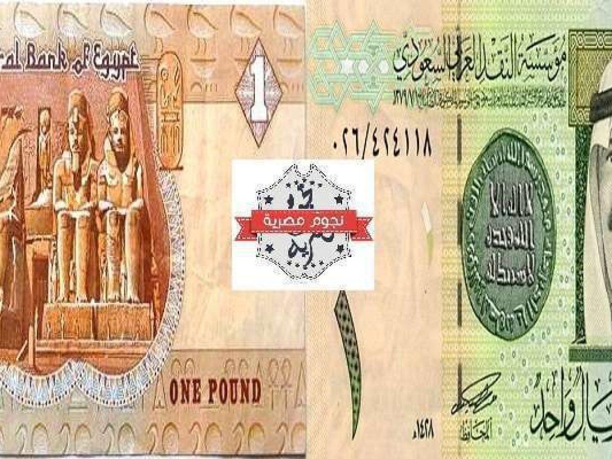 سعر الريال السعودي مقابل الجنيه المصري اليوم السبت 9 11 2019 في