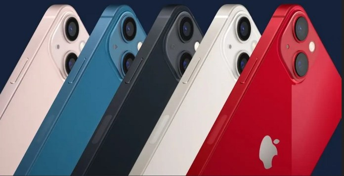 In 5 colors .. Apple officially reveals the specifications and price of the iPhone 13 series