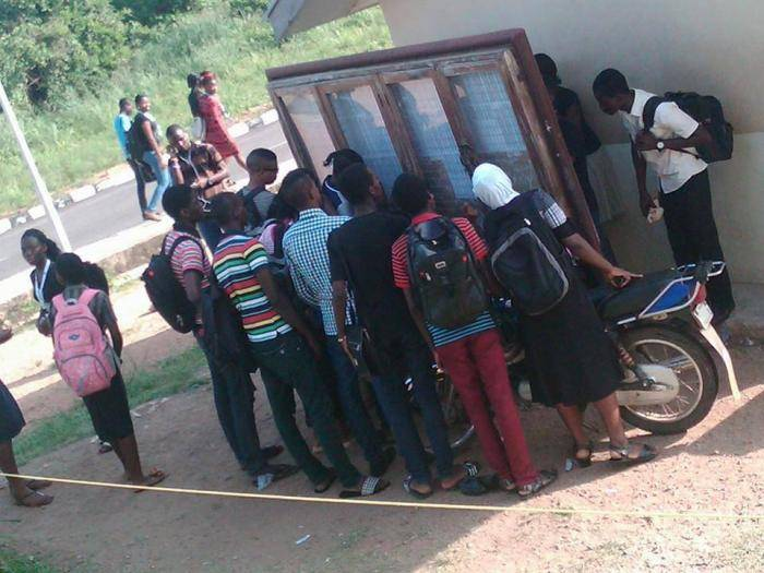 Who gives admission JAMB or school