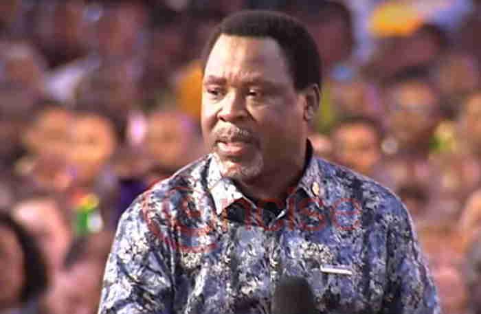 Pastor Adeboye on TB Joshua death