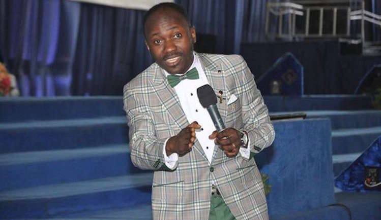 Founder of the Omega Fire Ministries (OFM), Apostle Johnson Suleman