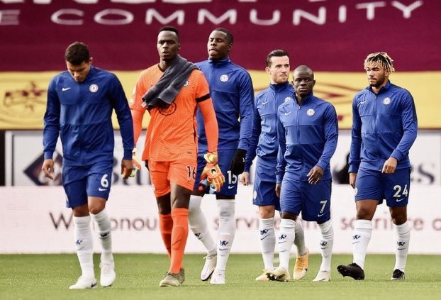 Senegalese goalkeeper Edouard Mendy