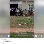 Hoodlums Cart Away Food Items Discovered Inside A Church In Ogun State (Video)