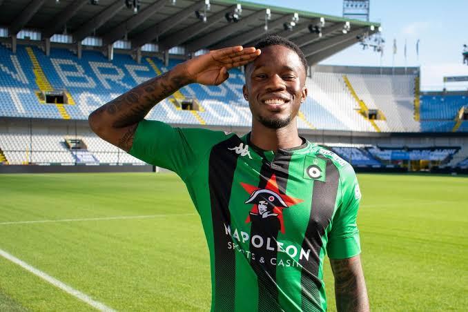 Chelsea forward Ike Ugbo