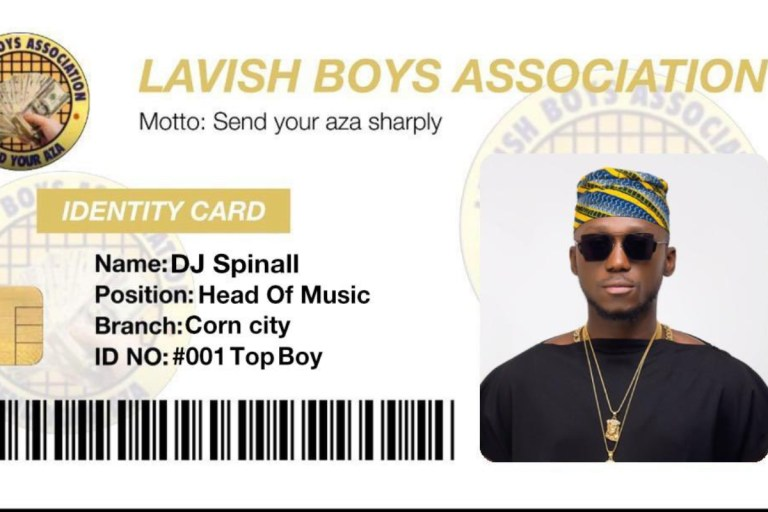 DJ Spinall Dumps Joins Lavish Boys Association Set To Spray Cash On Fans