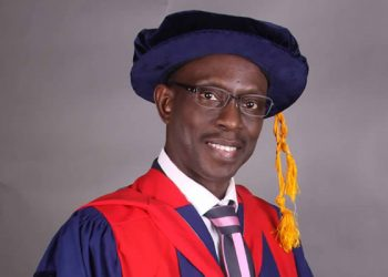 Prof Damola Oke as the Acting Vice Chancellor of the Lagos State University