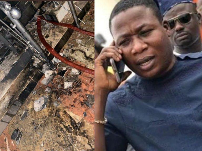 Sunday Igboho House Attack x