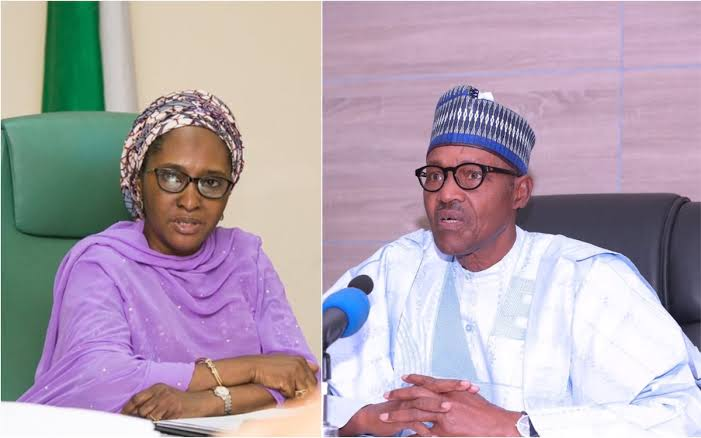 Zainab Ahmed and President Buhari