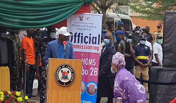 Lagos Govt Gives Apartment To Veteran Actress Best Teacher As Sanwo Olu Opens Housing Estate