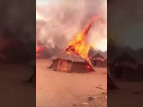 Police Arrest Three Over Alleged Burning Of Fulani Huts Murder In Saki