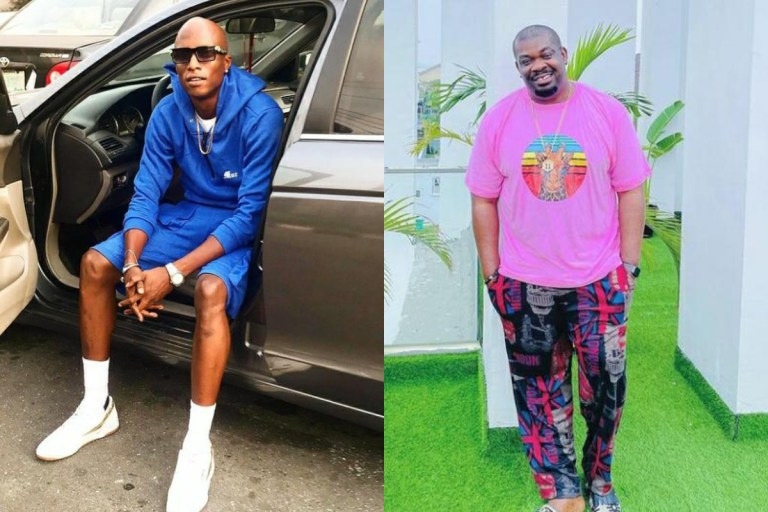 OAP N and Don Jazzy