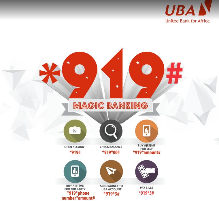UBA Banking Code