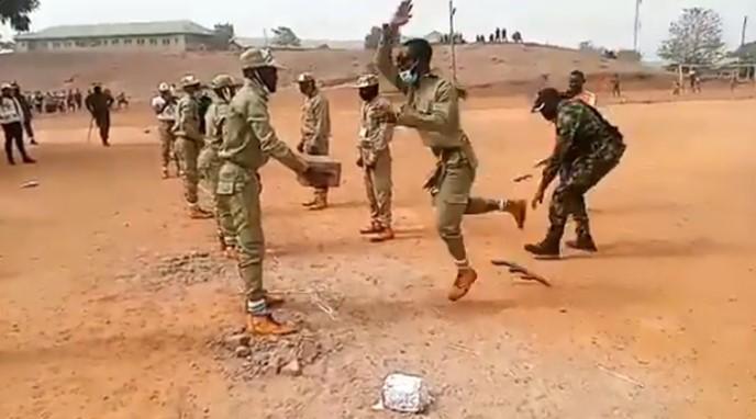 corp members train