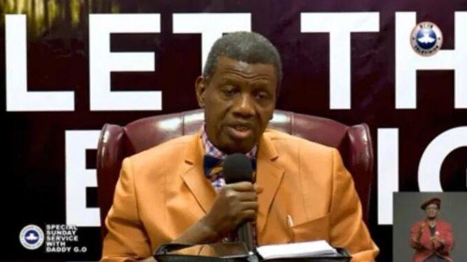 Pastor Adeboye x