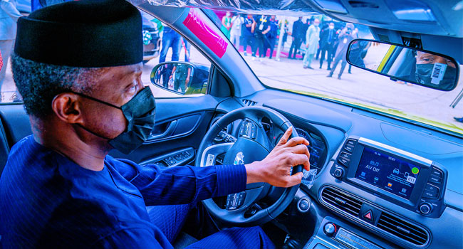 First Made in Nigeria electric car