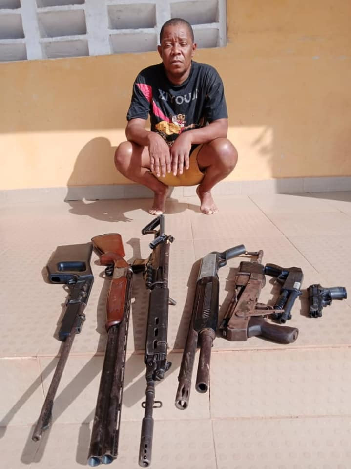 Mike Omoruyi arrest Pictures