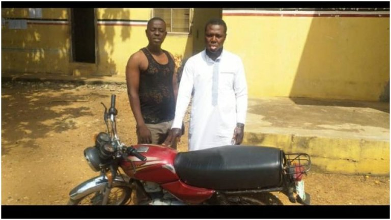 Motorcycle thief arrested in Ilorin Shopping Mall