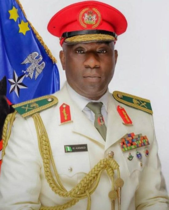 Nigerian Army General Hassan Ahmed