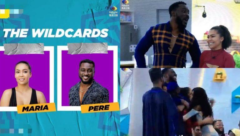 Ebuka revealed the wild cards to the housemates Video