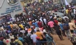 FUTA students protest death of colleague