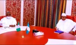 Simon Lalong and Buhari
