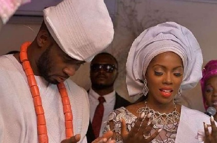 Who is the father of Tiwa Savage son