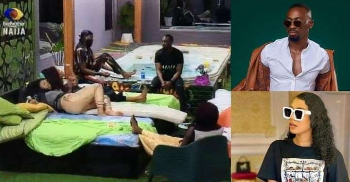 BBNaija: Nini, Saga spearhead gossip on how Queen once touched herself till she 'came' (Video)