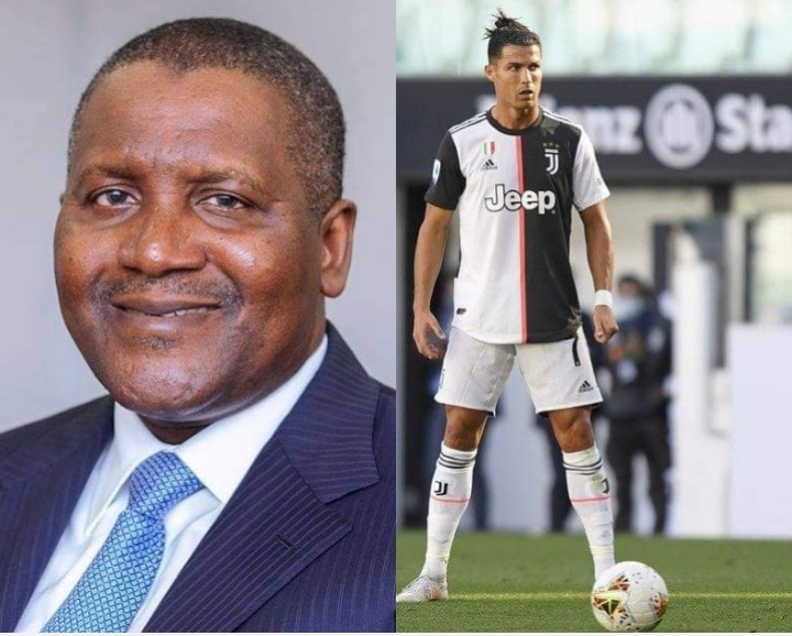 Dangote And Ronaldo Who Is The Richest [NET WORTH]