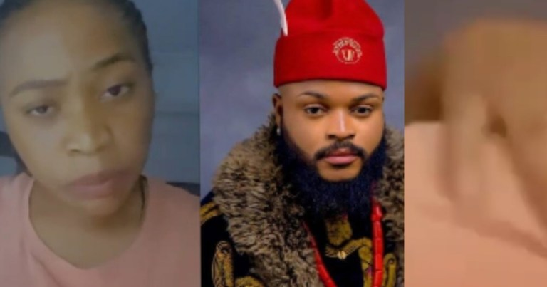 VIDEO Lady Claims She Is Pregnant For BBNaijas Winner Whitemoney